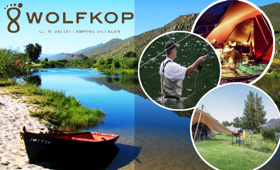 Luxury glamping along the Olifants River