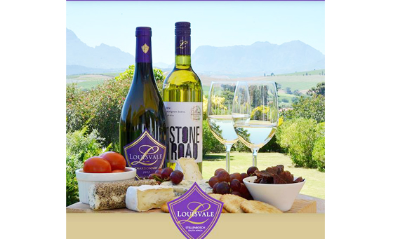 Enjoy a wine tasting and cheese platter for 2 at Louisvale in Stellenbosch