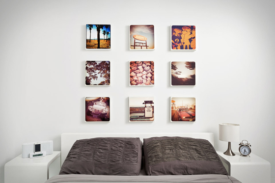 Design your own photographic canvas prints with Printstagram