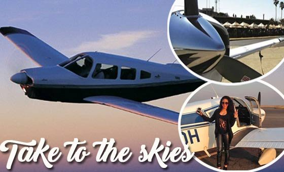An adventure of a lifetime and a learning experience - a one-on-one flying lesson with African Skyline