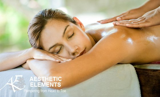 A luxurious spa indulgence for you and a partner at Aesthetic Elements Spa
