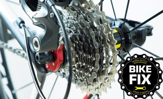 Get a major bicycle service from Bike Fix - they come to you! Valid for 1 road or mountain bike. Excludes all parts.
