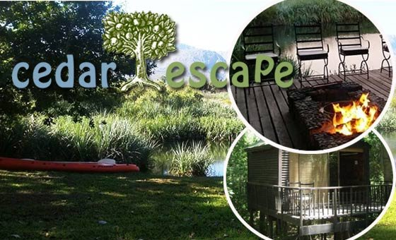 A two night escape (for 2 people) to nature at Cedar Escape in Tree Top Cabins. Excludes meals