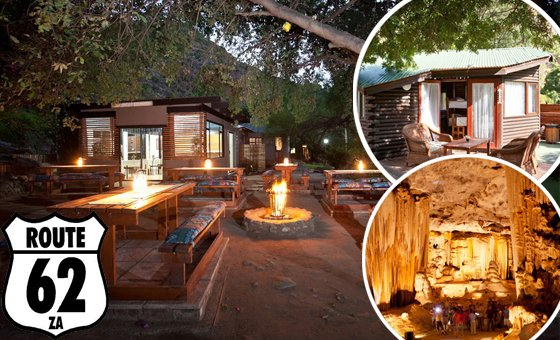 Enjoy a family break in Oudtshoorn at Ou Tol Cango Retreat in a self-catering cottage for up to 4 people ( 2 adults & 2 kids)