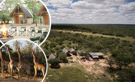 A bushveld paradise 2 night stay for 2 people at Nyumbani Estate, located in a Big Game reserve - includes breakfast & dinner