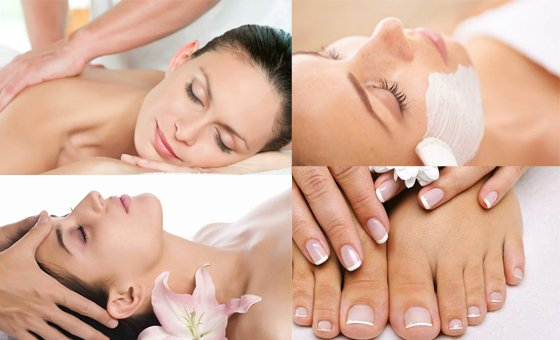 Time to relax with a friend or partner with a 1 hour 40 min spa package from Heavens Spa