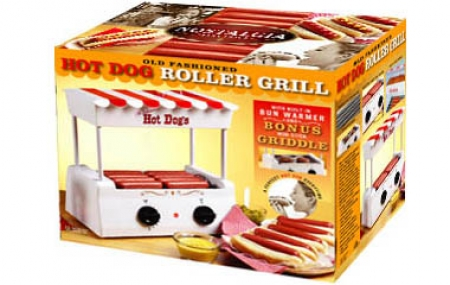 Old fashion hot dog roller 47