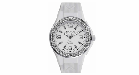 Avalanche White Jewel Watch