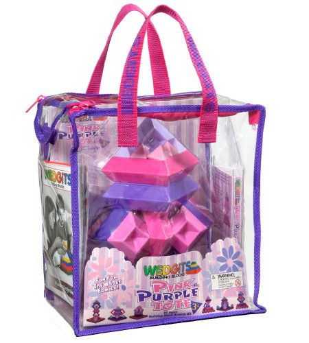 Pink And Purple Tote