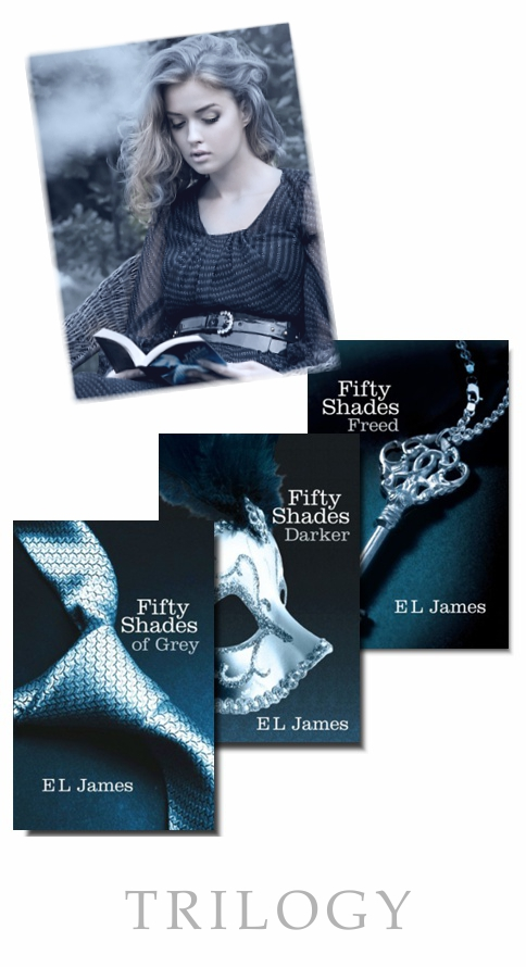 Fifty Shades Of Grey Trilogy Of Books