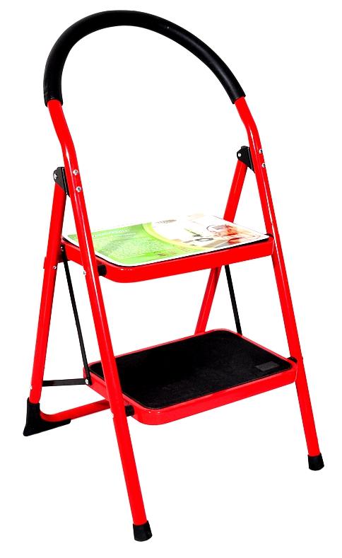 Red 2 Step Ladder