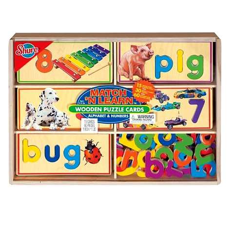 Shure Wooden Educational Toy