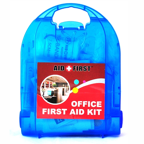 First Aid Kits Office Blue