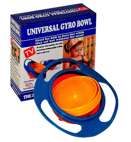 Gyro Infant Spill Proof Feeding Bowl