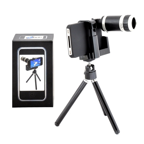 Telephoto Lens Kit For The Iphone Camera