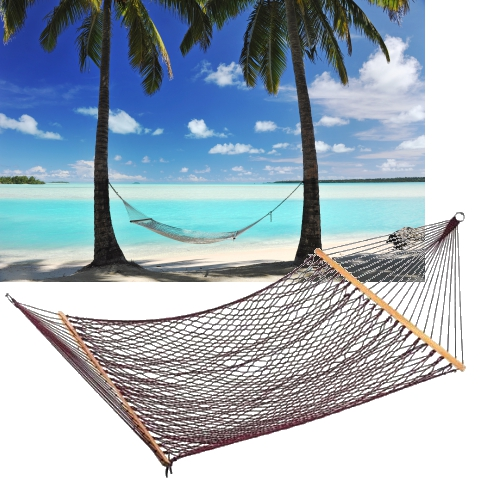 Awesome Single Bed Cotton Cord Hammock
