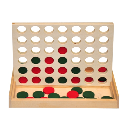 4 In 1 Wooden Game