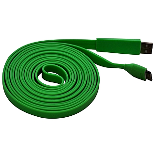 3m Iphone Ribbon Cable Green