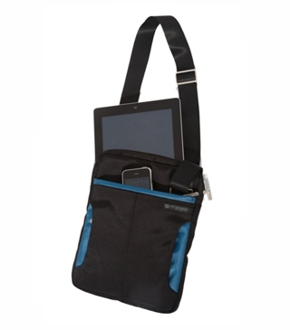Miracase Ipad Bag With Blue Trim
