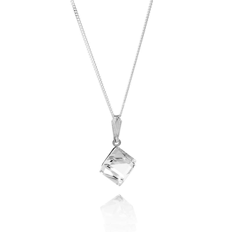 Fnb Super Savers Mothers Day Diamond Style Swarovski Elements Cube Pendant