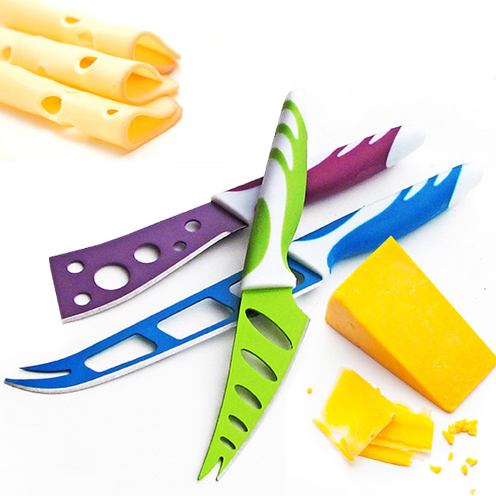 3 Piece Cheese Knife Set
