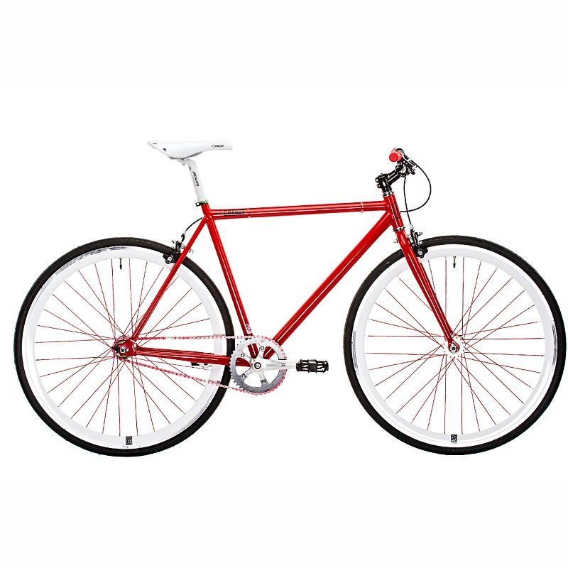 Red Harrier Fixie Single Speed Large