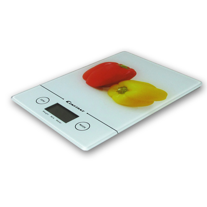 Red And Yellow Pepper Kitchen Scale