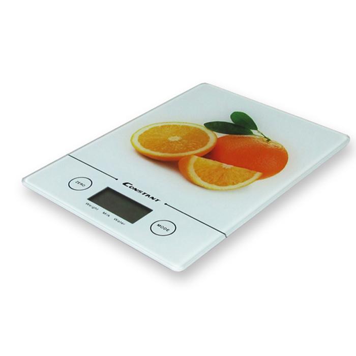 Orange Kitchen Scale