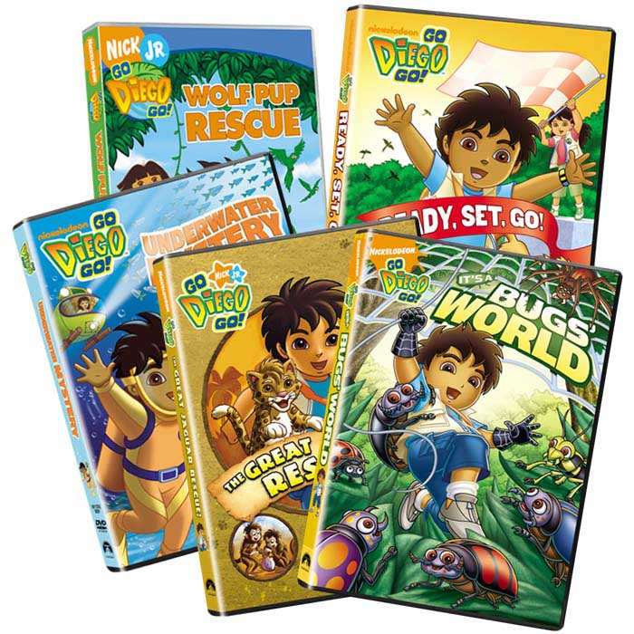Diego 10 Disc Collection