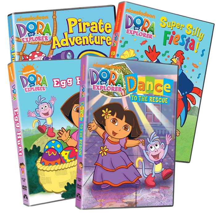 Dora The Explorer 7 Disc Collection