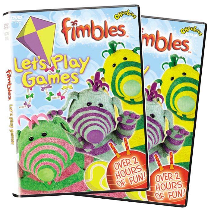 Fimbles 5 Disc Collection