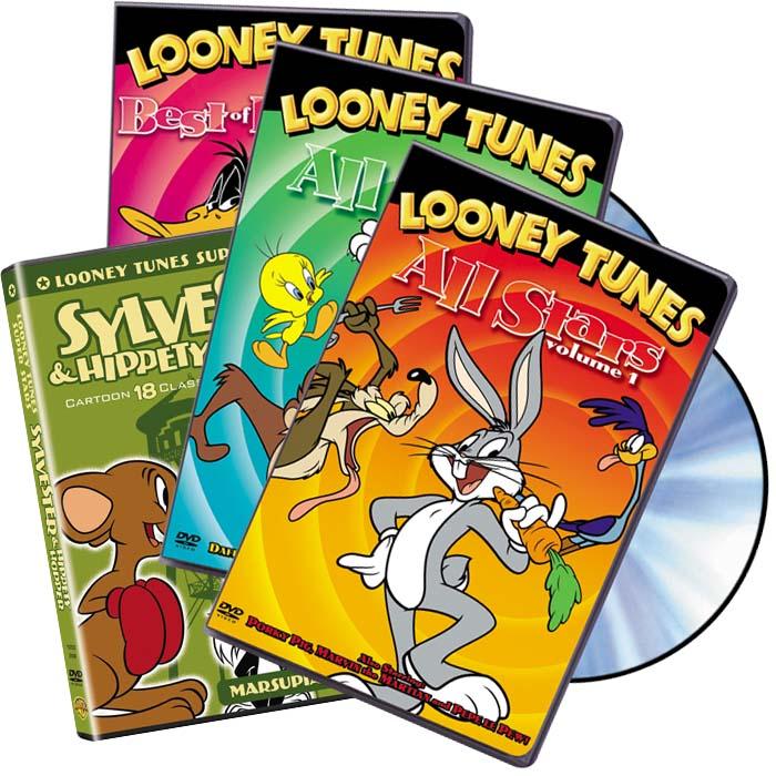Looney Tunes 12 Disc Bundle