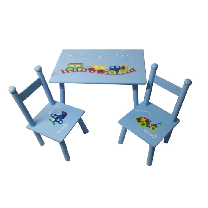 Rectangular Table And Chairs Train Design