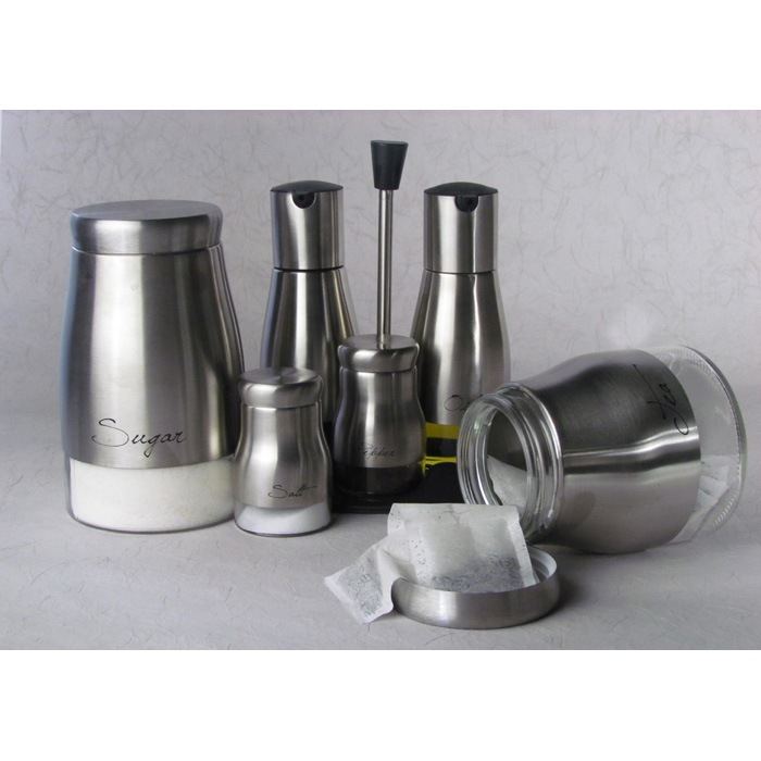 7 Piece Olive Oil Holders