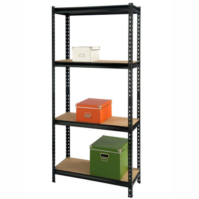 4 Tier Shelf Shelf 86 X 36 X H152cm
