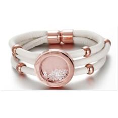 Floating Swarovski Elements Crystal Bracelet