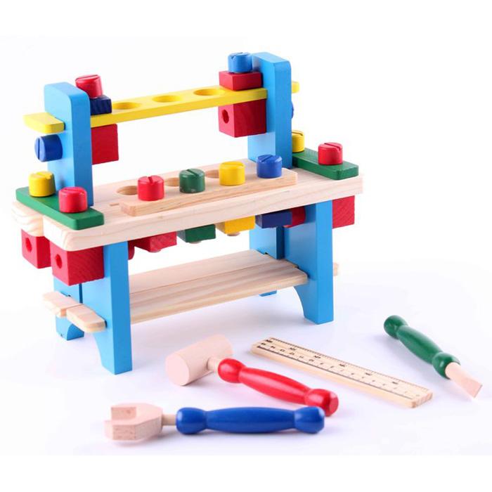 Mini Work Bench Wooden Toy