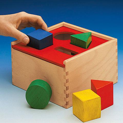 Todlers Steckbox Puzzle