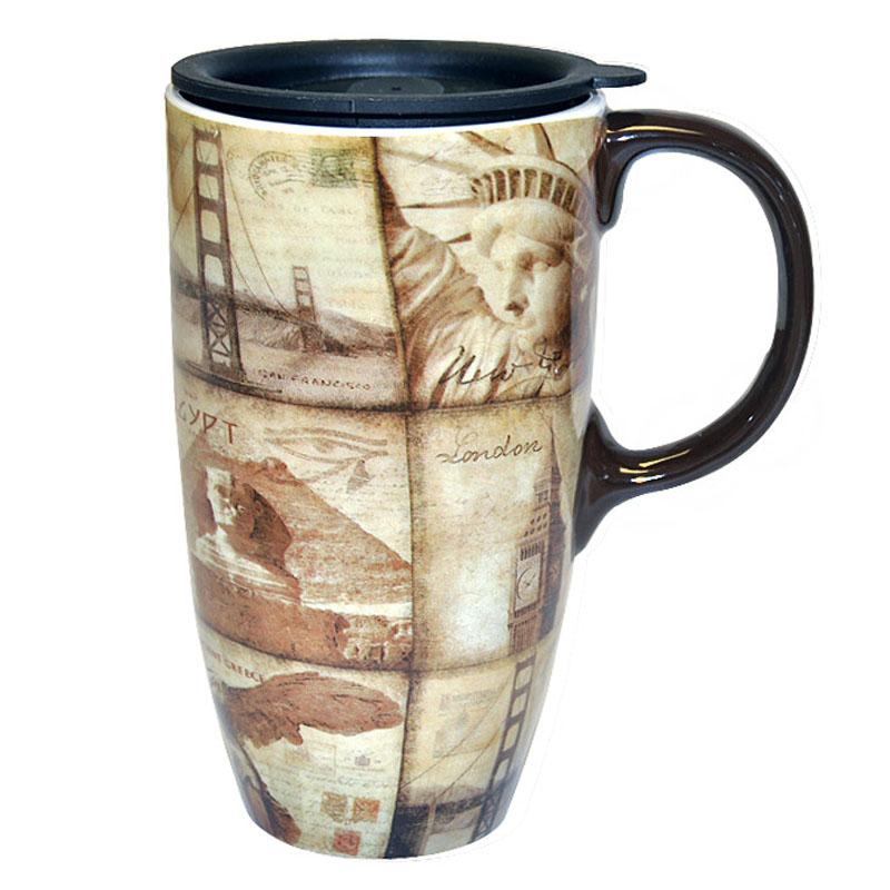 Travel Collage Mug