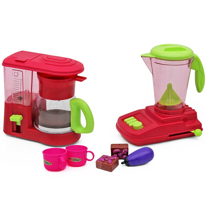 Coffee And Blender Play Set