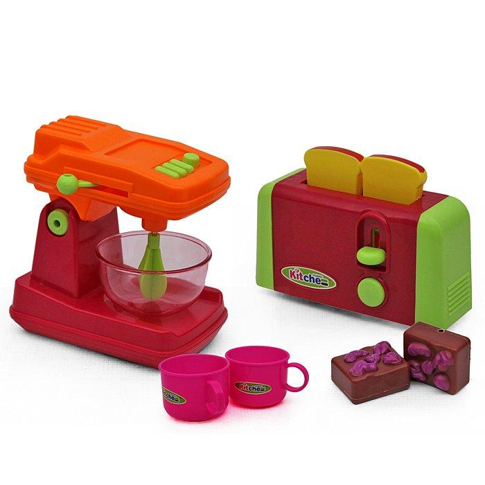 Mixer And Toaster Play Set
