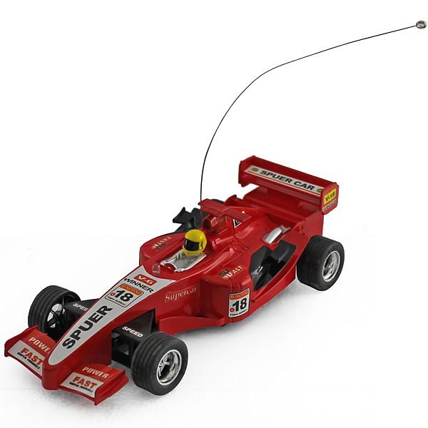 Rc F1 Car Red 6.5cm Long