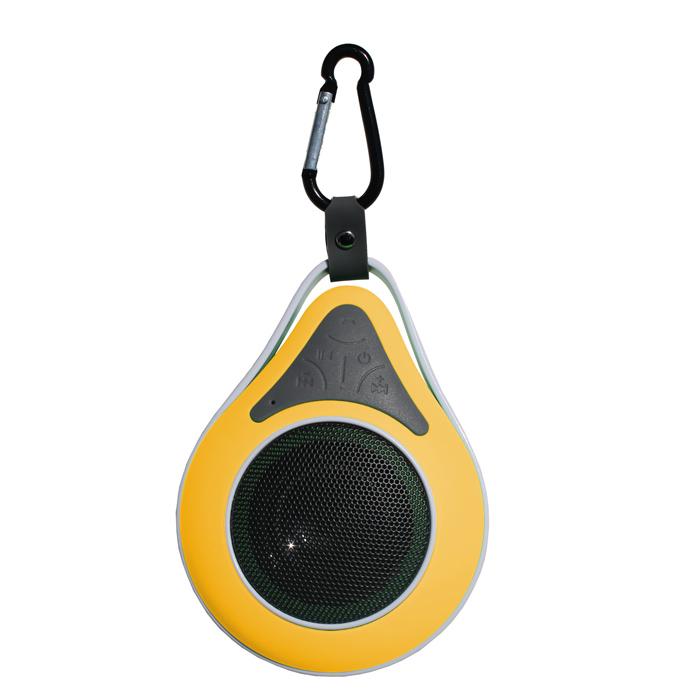 Bluetooth Waterproof Hanging Speaker Yellow