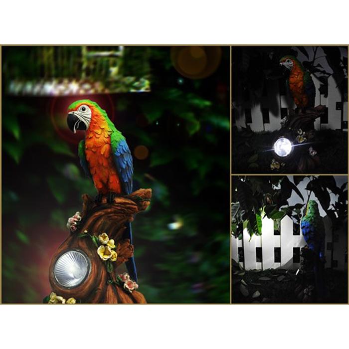 Solar Garden Parrot