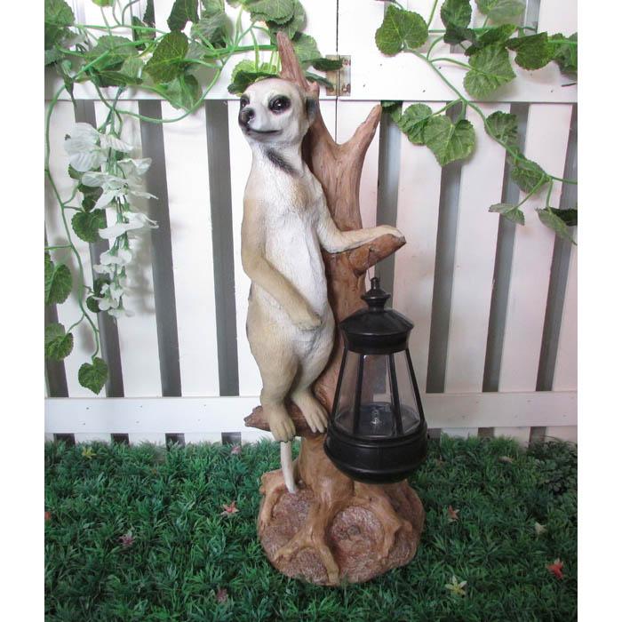 Solar Garden Tree Meerkat
