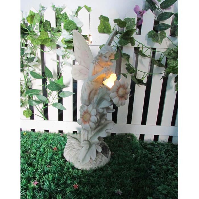 Solar Garden Fairy Naturing Bird