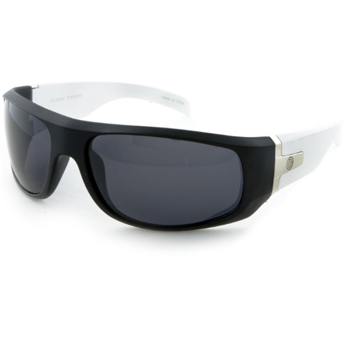 Filtrate Gents Sunglasses Halogen Black White Matte