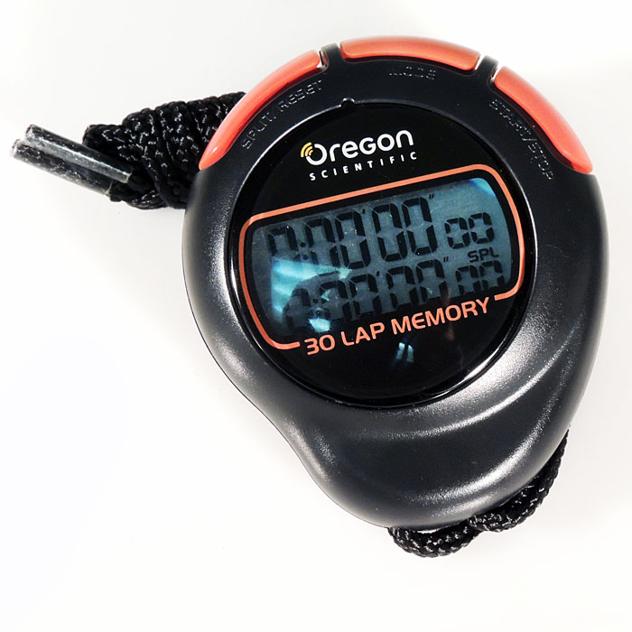 Oregon Scientific Stop Watch With Memory Sl210 Last Few