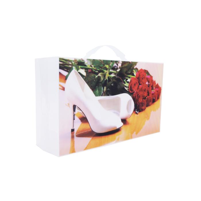 Shoe Box Red Rose 18 X 31 X 30cm