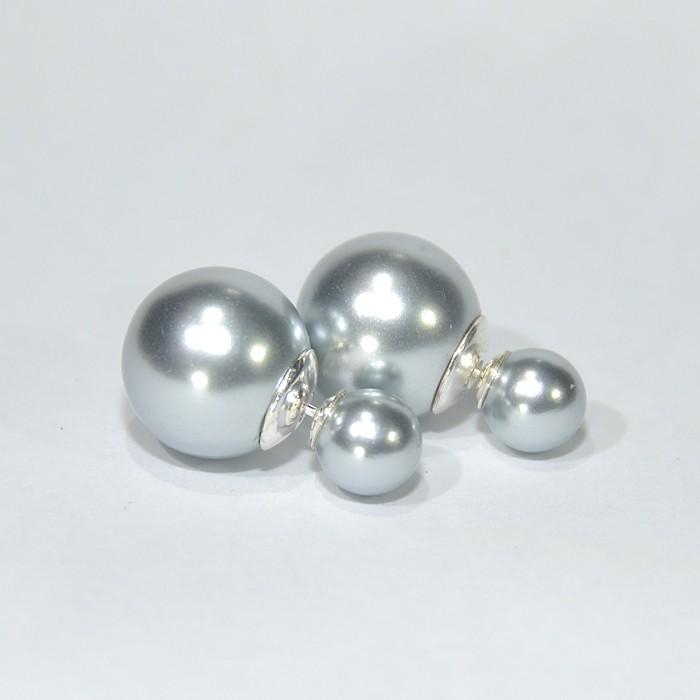 925 Silver Faux Pearl Pearl Earring Silver